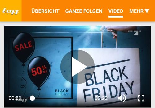 Quelle: Screenshot www.prosieben.de